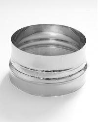 Переход на диаметр от Ø160-220, нерж. сталь AISI 321, толщина 1 мм