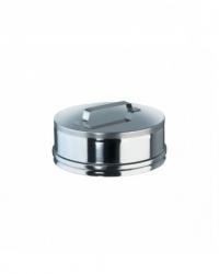Заглушка для ревизии от Ø200, нерж. сталь AISI 321, толщина 0,8 мм